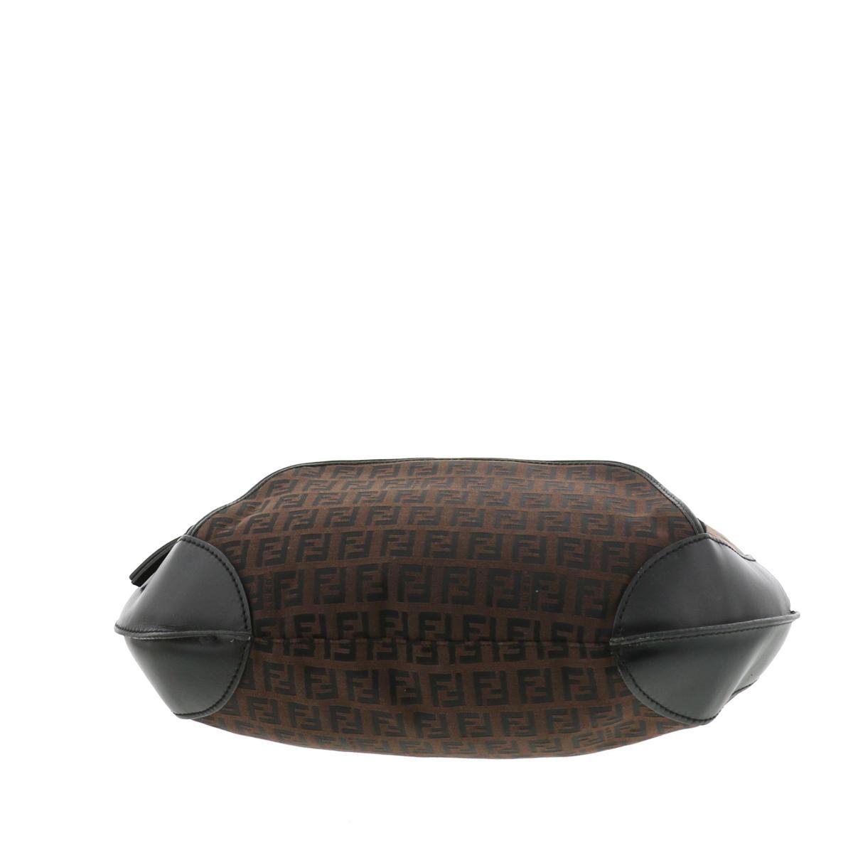 【即日発送・水曜定休日・木曜発送】【中古】【RI】 FENDI (フェンディ) ズッキーノ ワンショルダーバッグ バッグ ショルダー/メッセンジャーバッグ ズッキーノ Brown/ブラウン 8BR465 used:C