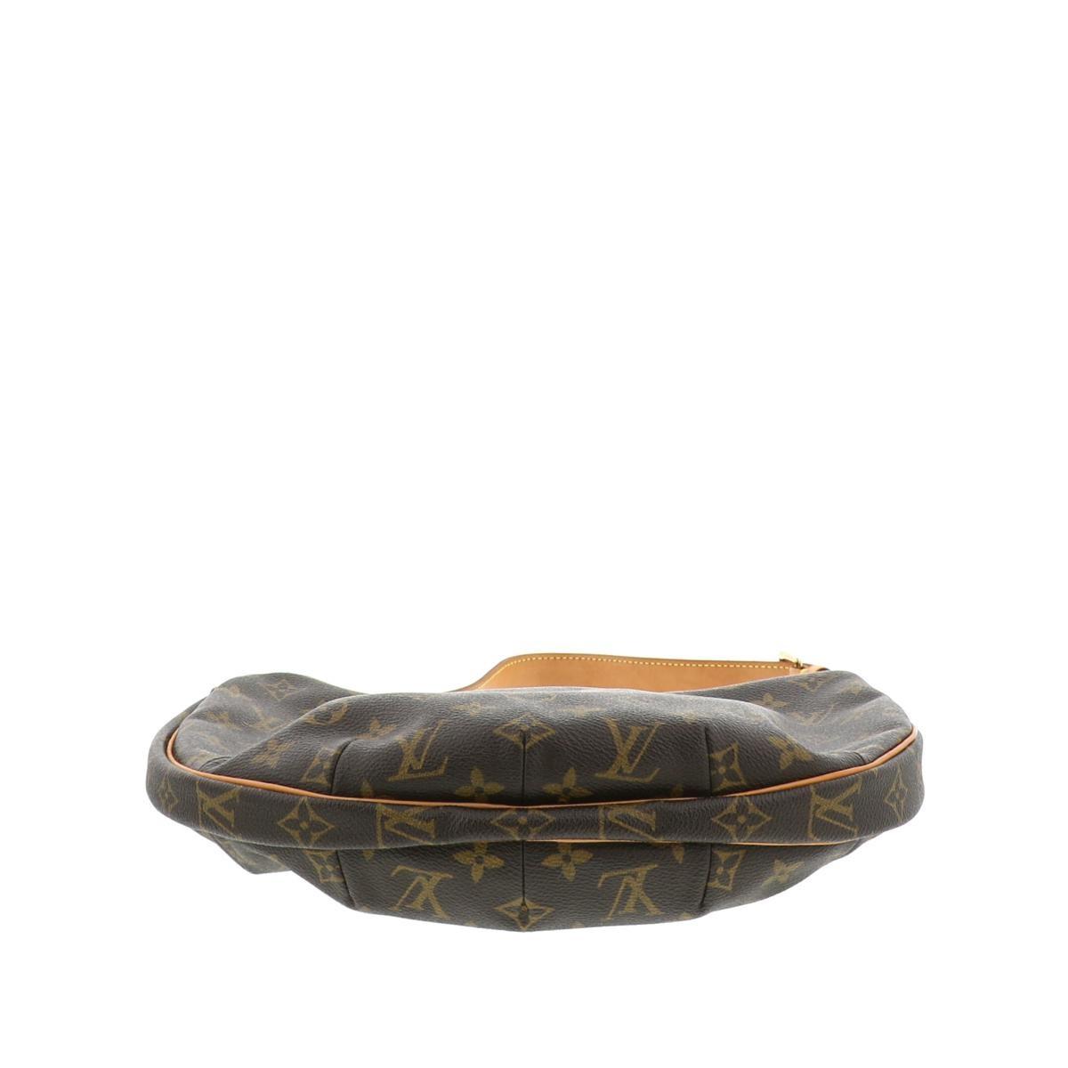 【美品】ルイヴィトン ポシェット クロワッサン モノグラム ショルダーバッグ LOUIS VUITTON Pochette Croissant Monogram Shoulder Bag M51510