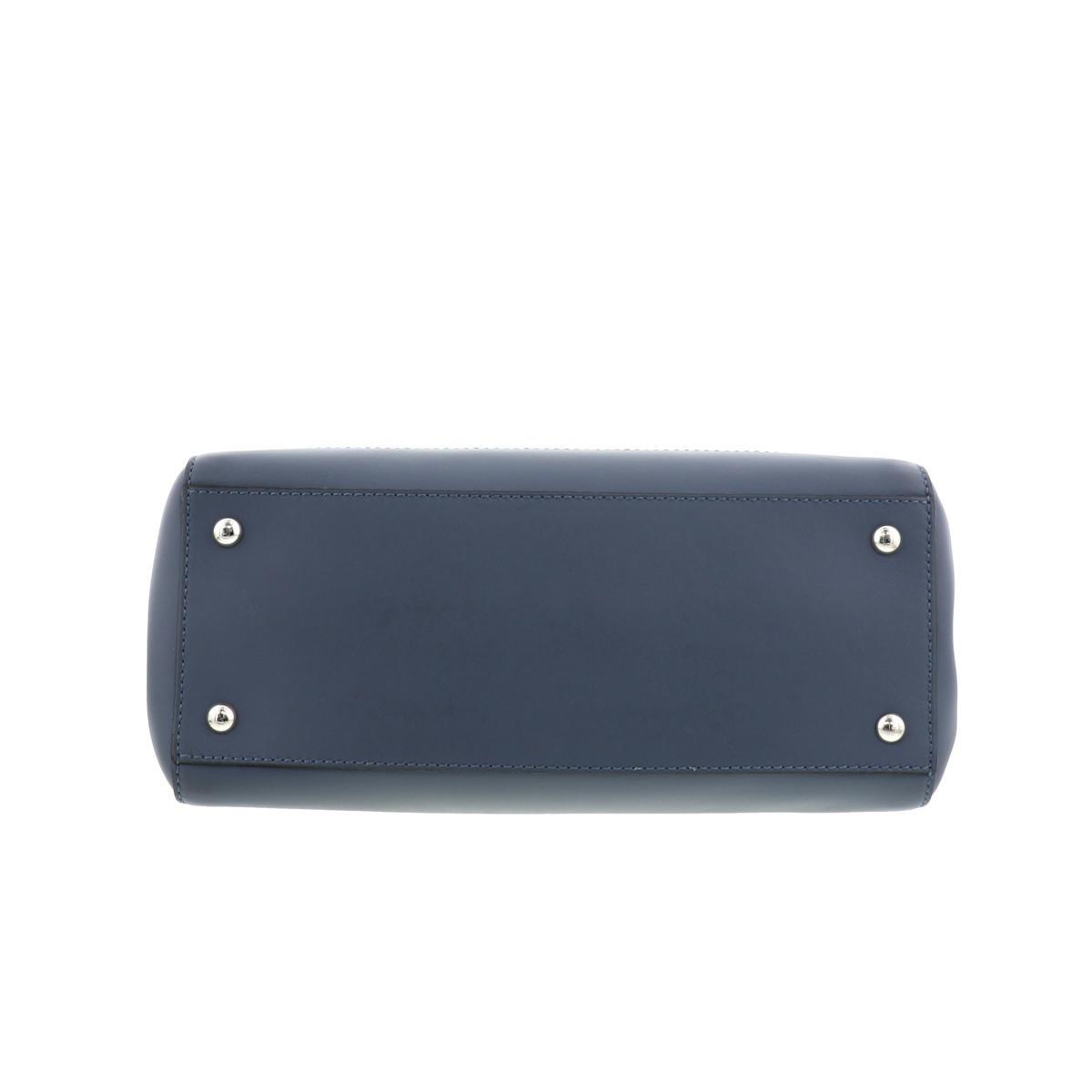 【中古】FENDI フェンディ ドットコム バッグ ショルダー/メッセンジャーバッグ  Blue/ブルー 8BN2935QLF01F3 used:B
