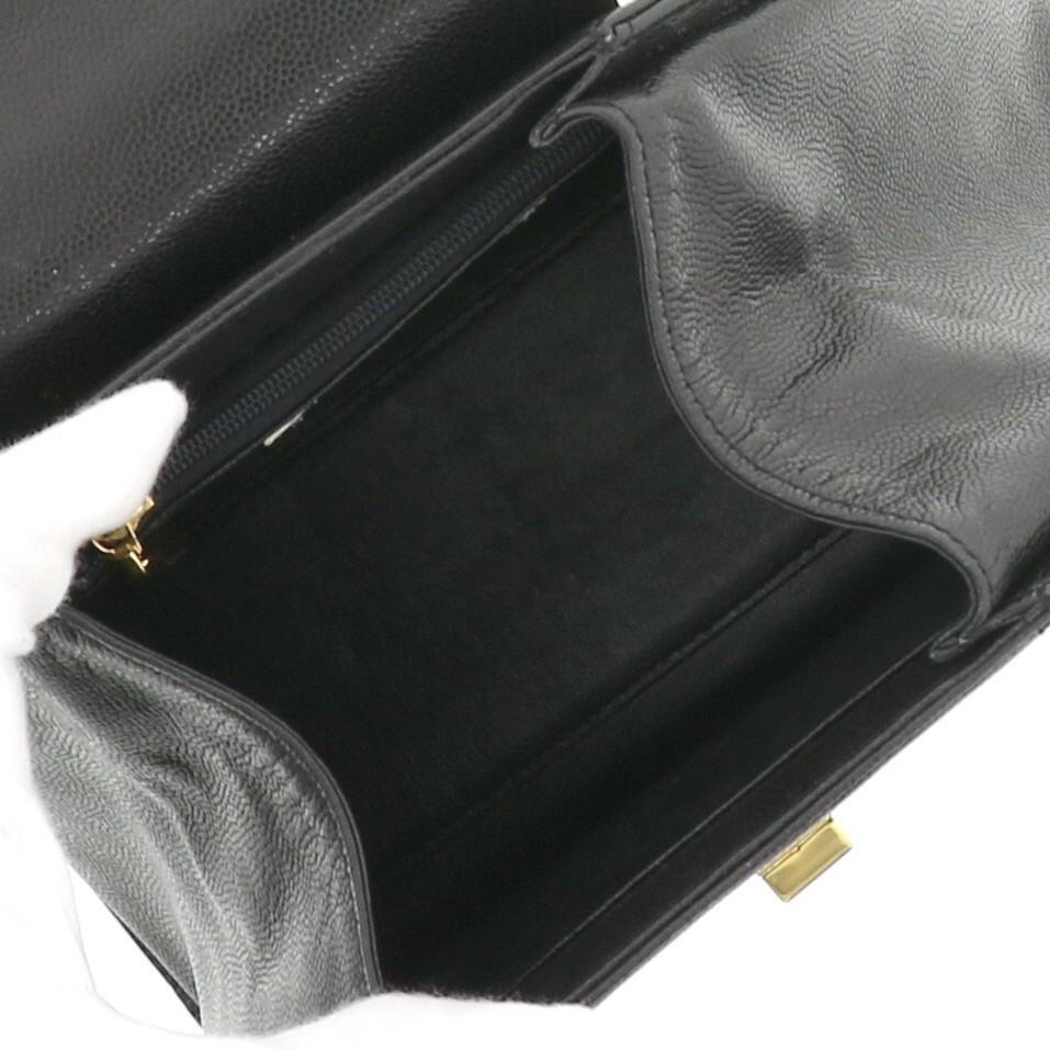 【中古】 GIVENCHY (ジバンシー) ハンドバッグ Vintage Black GD金具 バッグ ハンドバッグ  ブラック