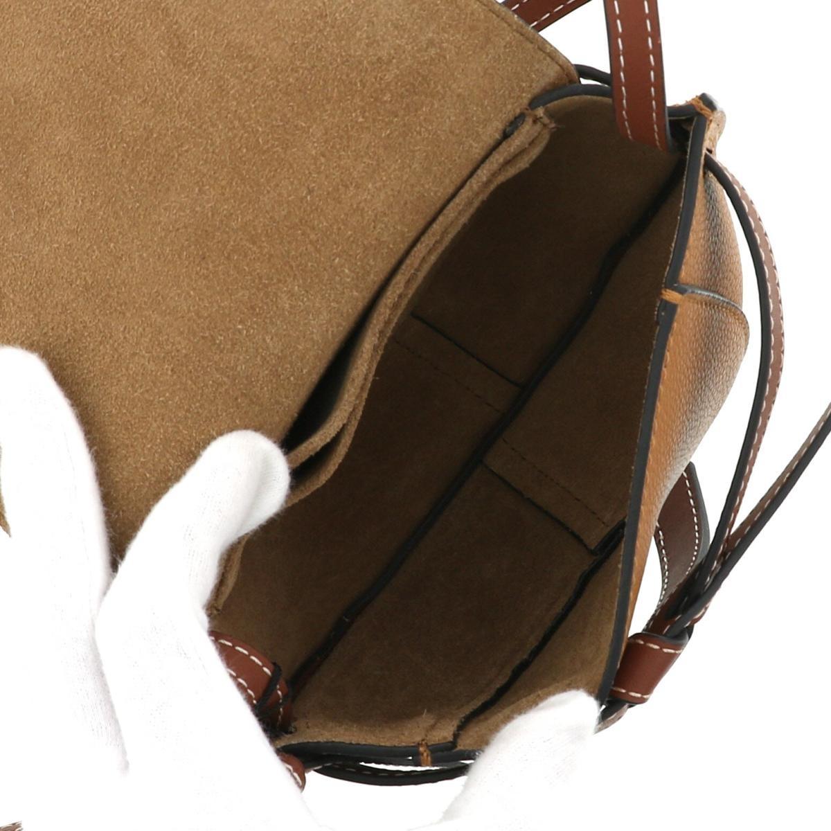 【お値下げ品】【中古】 LOEWE (ロエベ) ミニゲートバッグ バッグ ショルダー/メッセンジャーバッグ   321.12.U62 unused:S