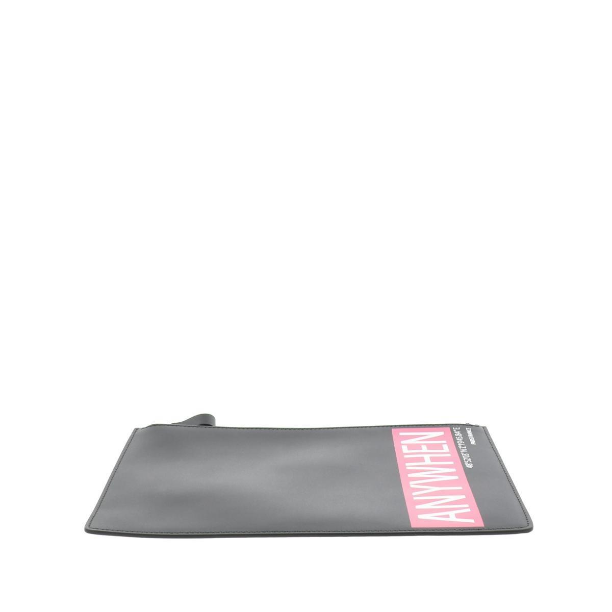 【お値下げ品】【中古】 VALENTINO (ヴァレンティノ) ANYWHEN クラッチバッグ バッグ セカンドバッグ/ポーチ/クラッチ  Black/ブラック