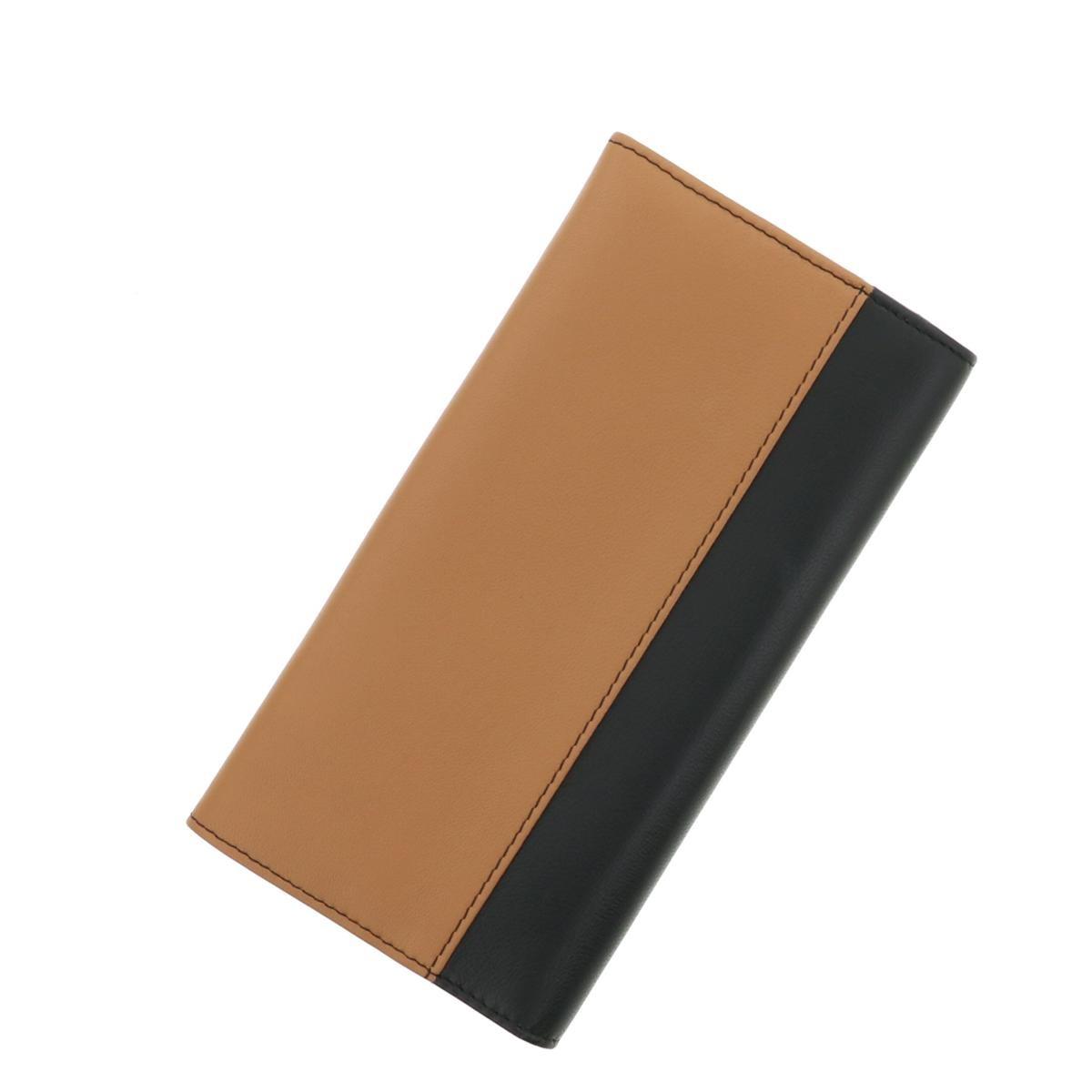【お値下げ品】【即日発送・水曜定休日・木曜発送】【美品】【中古】【オススメ】【RI】 CHLOE (クロエ) パッチワーク 二つ折り長財布 財布 長財布(小銭入有)  Brown/ブラウン 3P0171 used:A