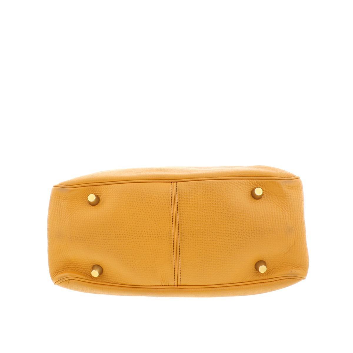 【即日発送・水曜定休日・木曜発送】【中古】【RI】 CELINE (セリーヌ) ニューブギーバッグ バッグ ハンドバッグ New boogie bag Orange/オレンジ