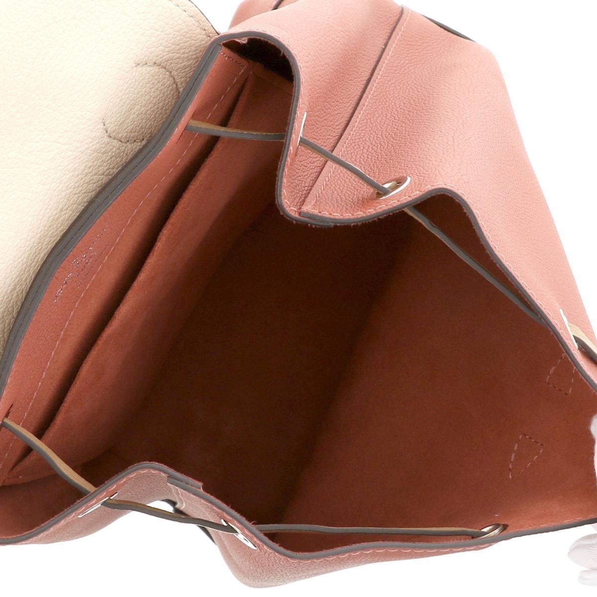 【即日発送・水曜定休日・木曜発送】【美品】【中古】【RI】 LOUIS VUITTON (ルイヴィトン) ロックミー・バックパック バッグ リュックサック/デイパック Soft Calf/VieuxRoseSesameCreme Pink/ピンク M44250 used:A