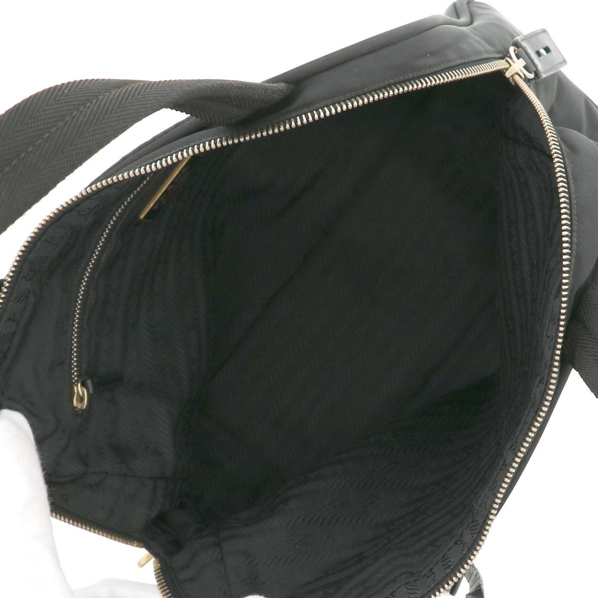 【中古】 PRADA (プラダ) ハンドバッグ バッグ ハンドバッグ ハンドバッグ ブラック
