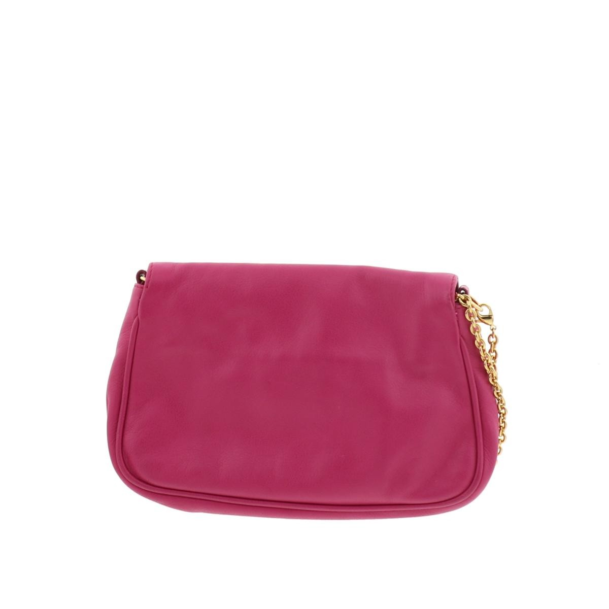 【美品】フェンディ チェーン ショルダーバッグ ピンク FENDI Chain Shoulder Bag Pink