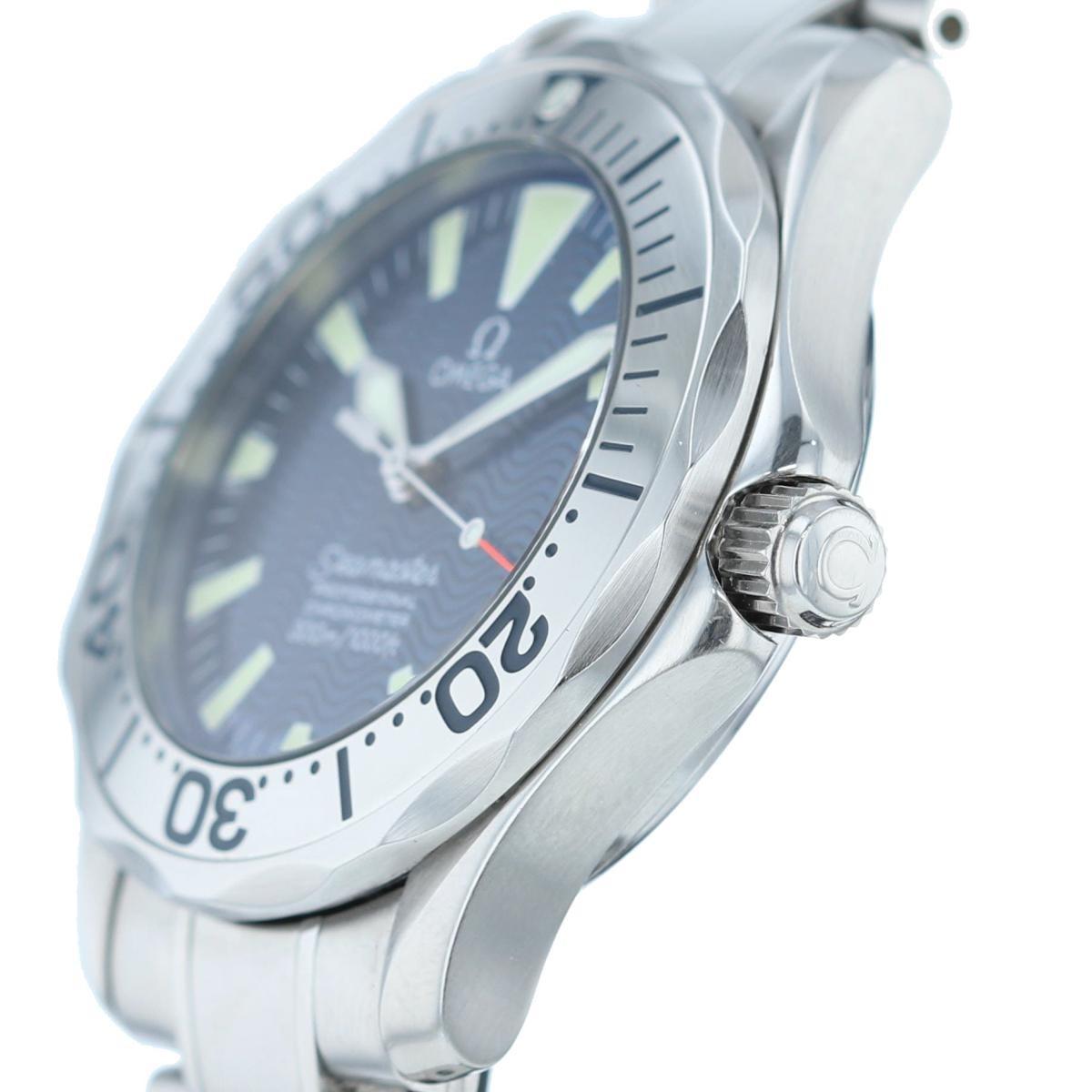 【お値下げ品】【中古】OMEGA (オメガ) シーマスター プロフェッショナル 36� 時計 自動巻き SEAMASTER 300M Blue/ブルー 2253.80 used:A