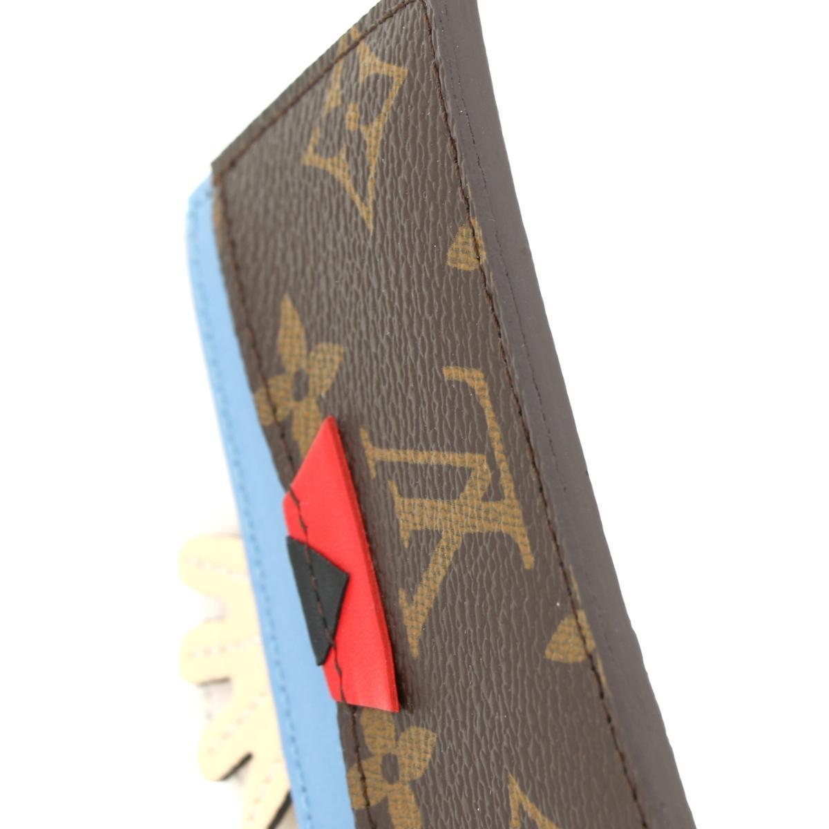 【SALE】【中古】LOUIS VUITTON ルイヴィトン ポルト カルト・サーンプル 2014-2015 小物 名刺入れ/カードケース Monogram Mask マルチカラー M60787 unused:S