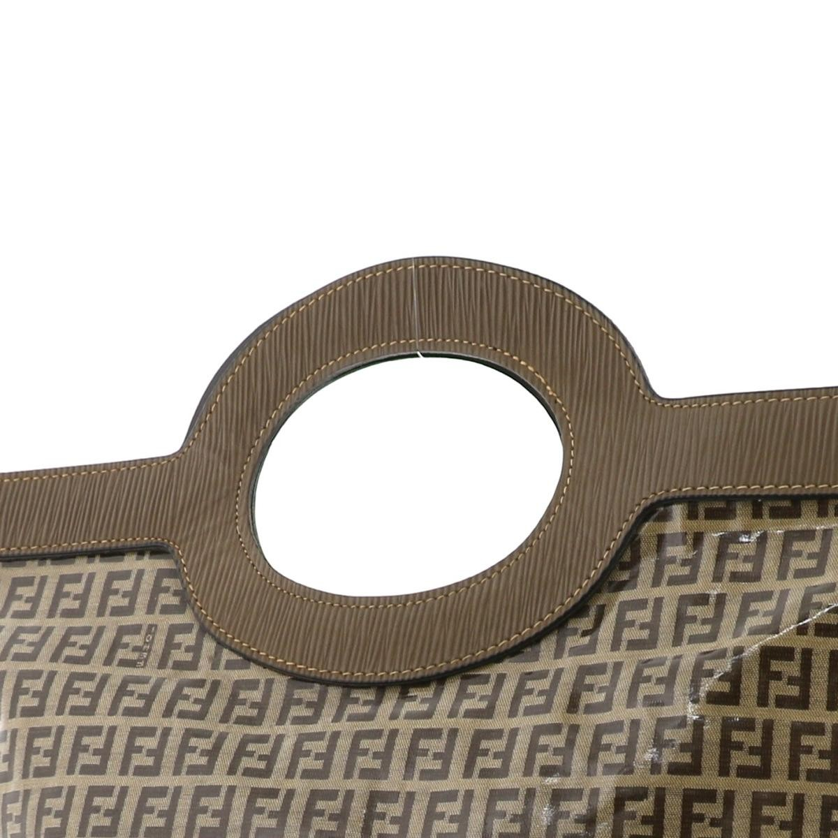 【中古】フェンディ トートバッグ PVC ズッキーノ ビンテージ FENDI Tote Bag PVC Zucchino Vintage