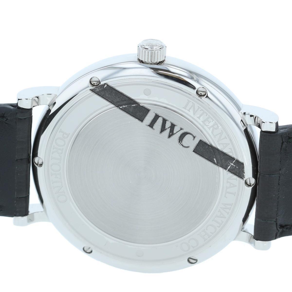 【お値下げ品】【即日発送・水曜定休日・木曜発送】【美品】【中古】【RI】 IWC (アイダブルシー) ポートフィノ 時計 自動巻き/メンズ Portofino Silver IW356501 used:A