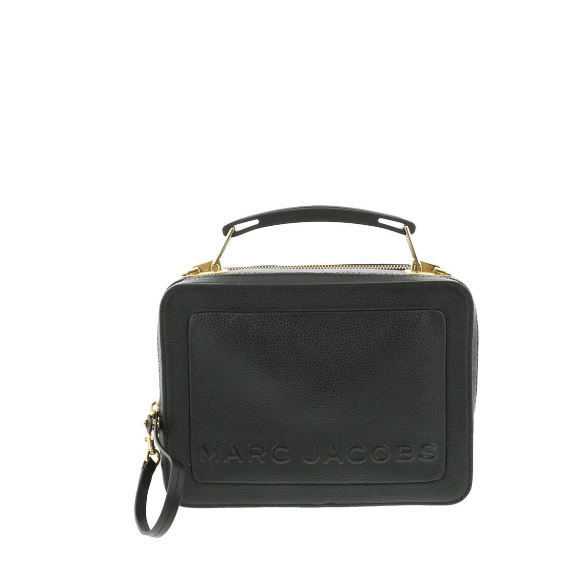【XmasSALE】【即日発送・水曜定休日・木曜発送】【美品】【オススメ】【RI】 MARC JACOBS (マークジェイコブス) THE BOX 23 バッグ ショルダー/メッセンジャーバッグ THEBOX Black/ブラック M0014841 used:A