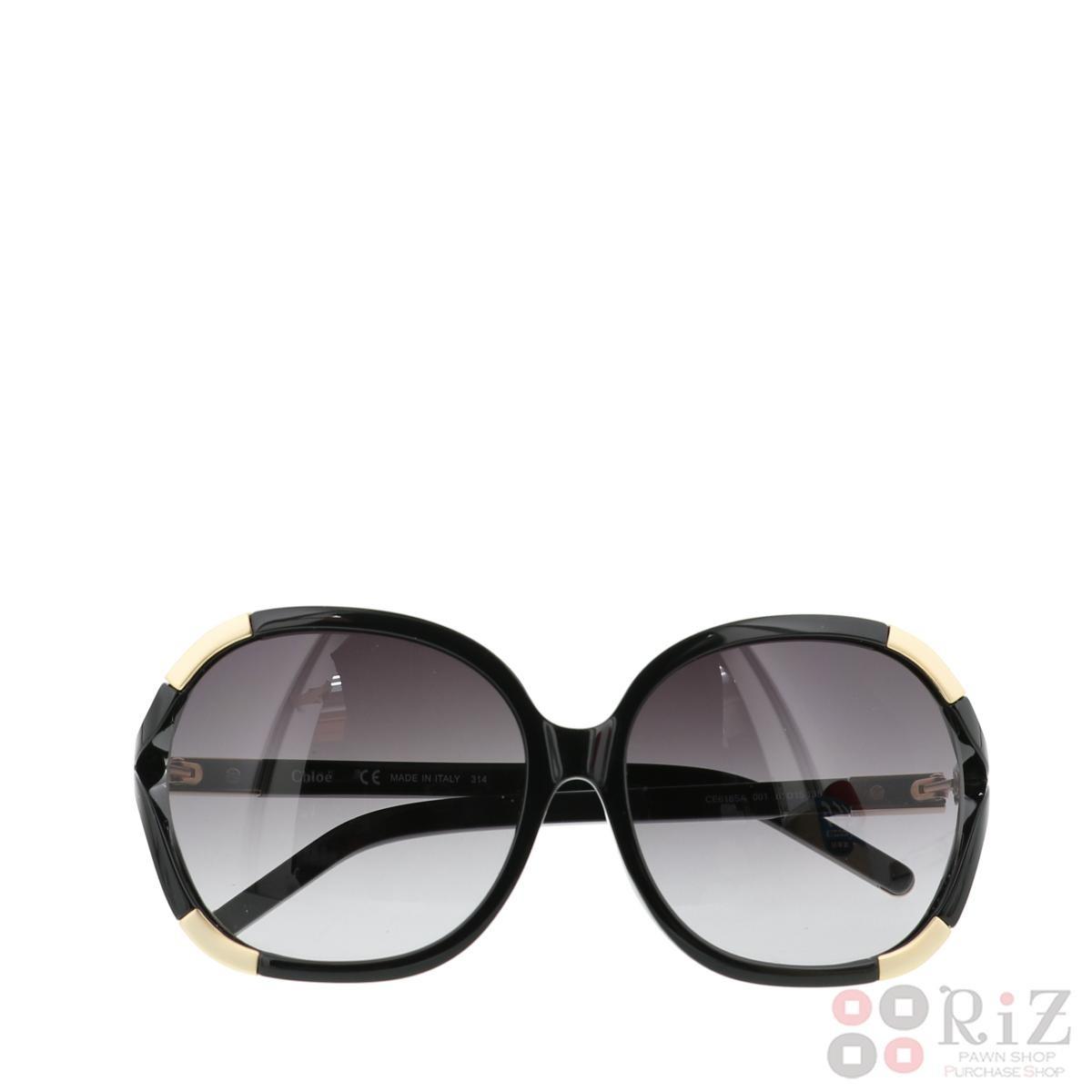 【中古】 CHLOE (クロエ) サングラス CE618SA 服飾 眼鏡/サングラス  Black CE618SA used:B