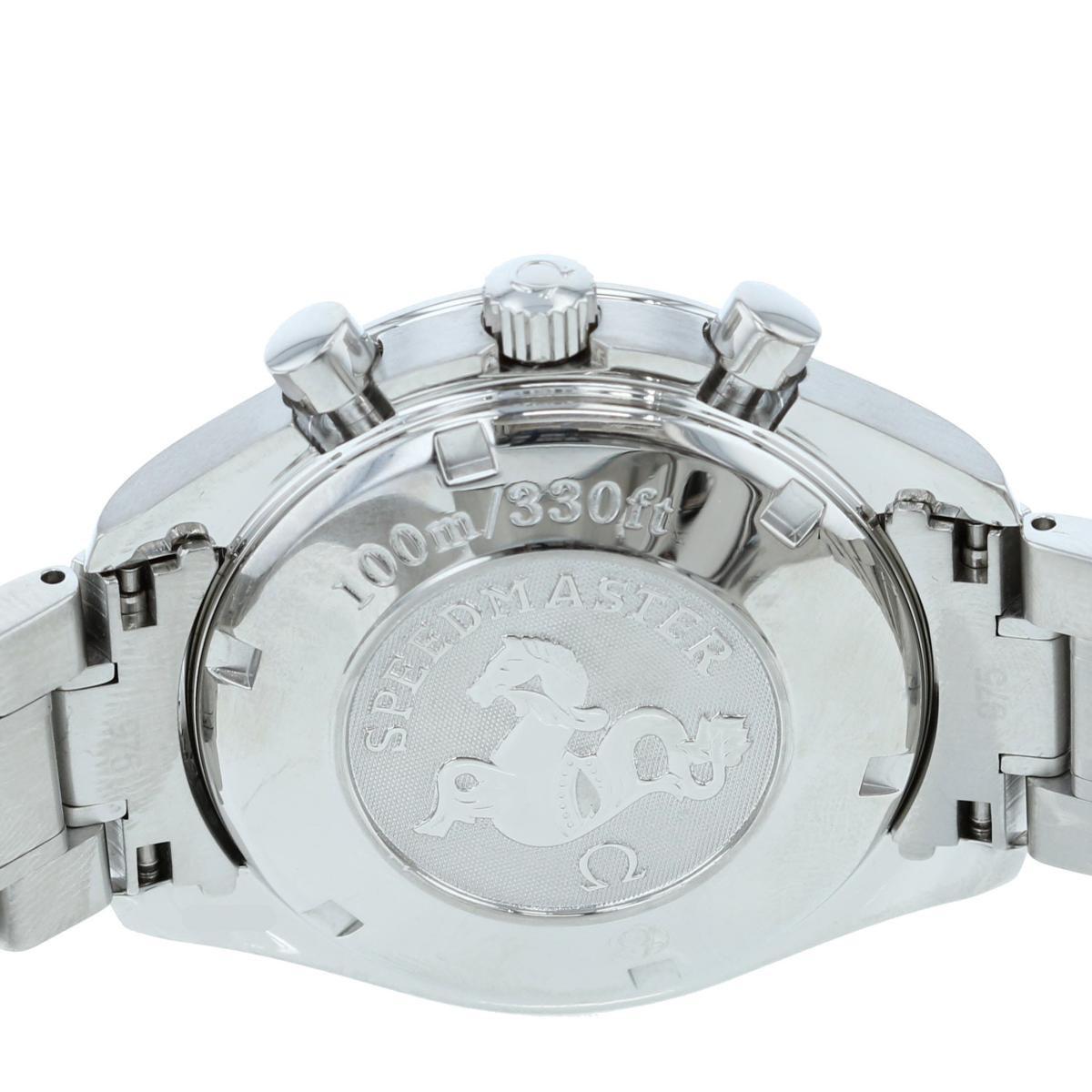 【お値下げ品】【中古】 OMEGA (オメガ) スピードマスター デイト 時計 自動巻き/メンズ スピードマスターデイト Silver/シルバー 3211.31 used:A
