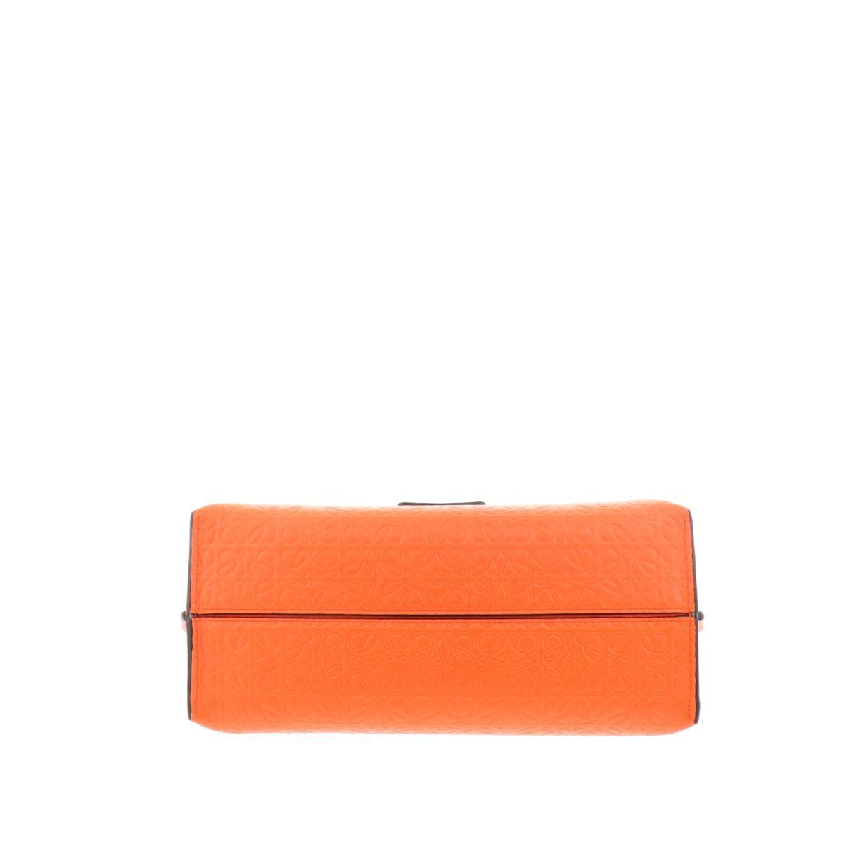 【中古】LOEWE (ロエベ) アベニュー チェーンショルダーバッグ バッグ ショルダー/メッセンジャーバッグ アベニュー Orange/オレンジ 310.89 used:B
