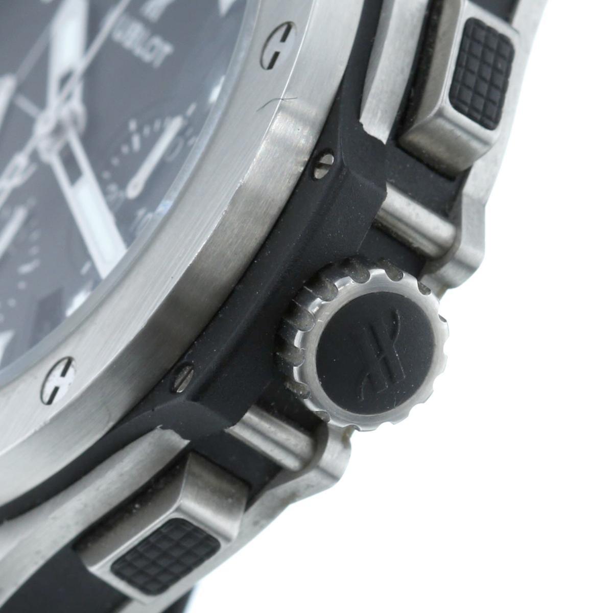 【最終処分セール】 HUBLOT (ウブロ) ビッグバン エボリューション 44� 時計 自動巻き/メンズ ビックバン Black/ブラック 301.SX.1170.RX used:A