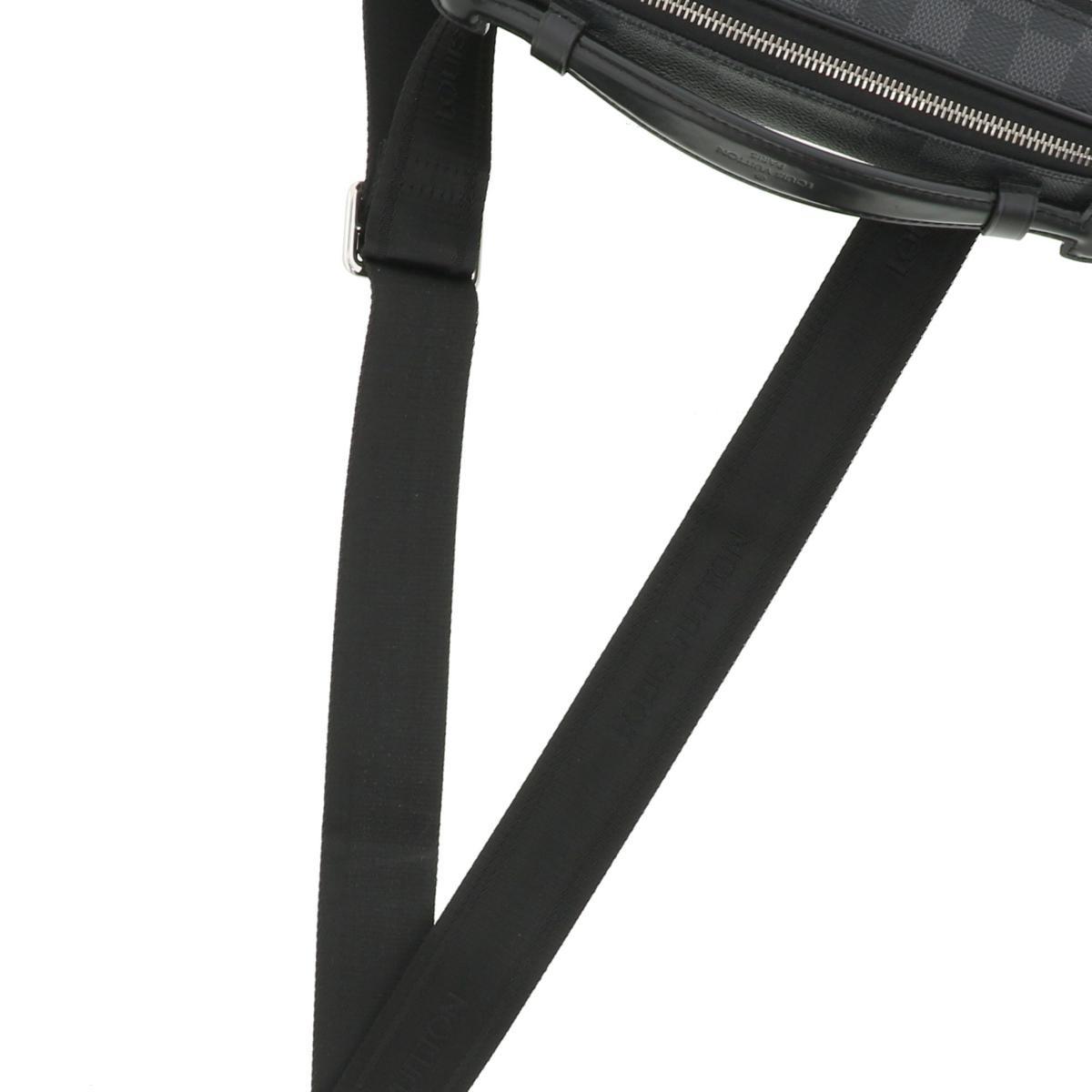 【中古】LOUIS VUITTON (ルイヴィトン) アンブレール バッグ ウェスト/ボディバッグ ダミエ/グラフィット Black N41289 used:B