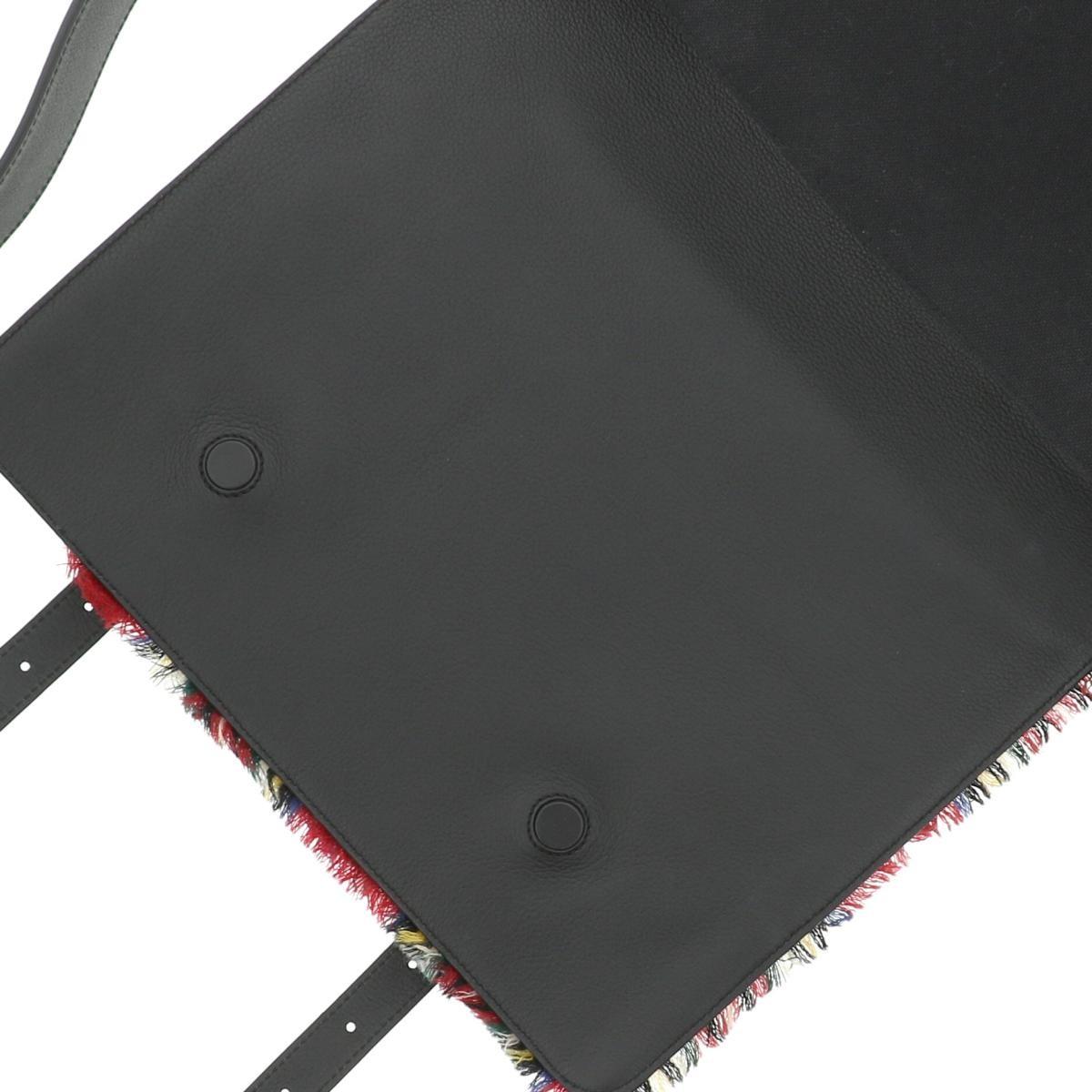 【即日発送・水曜定休日・木曜発送】【美品】【オススメ】【RI】 LOEWE (ロエベ) マルチメッセンジャー スモール バッグ ショルダー/メッセンジャーバッグ MILIT MESSENGER Black/ブラック 319.63.N64 used:A