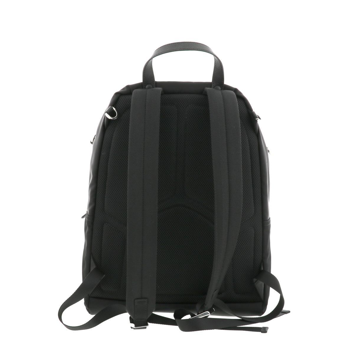 【中古】 プラダ ナイロン リュックサック ブラック PRADA Nylon Backpack Black