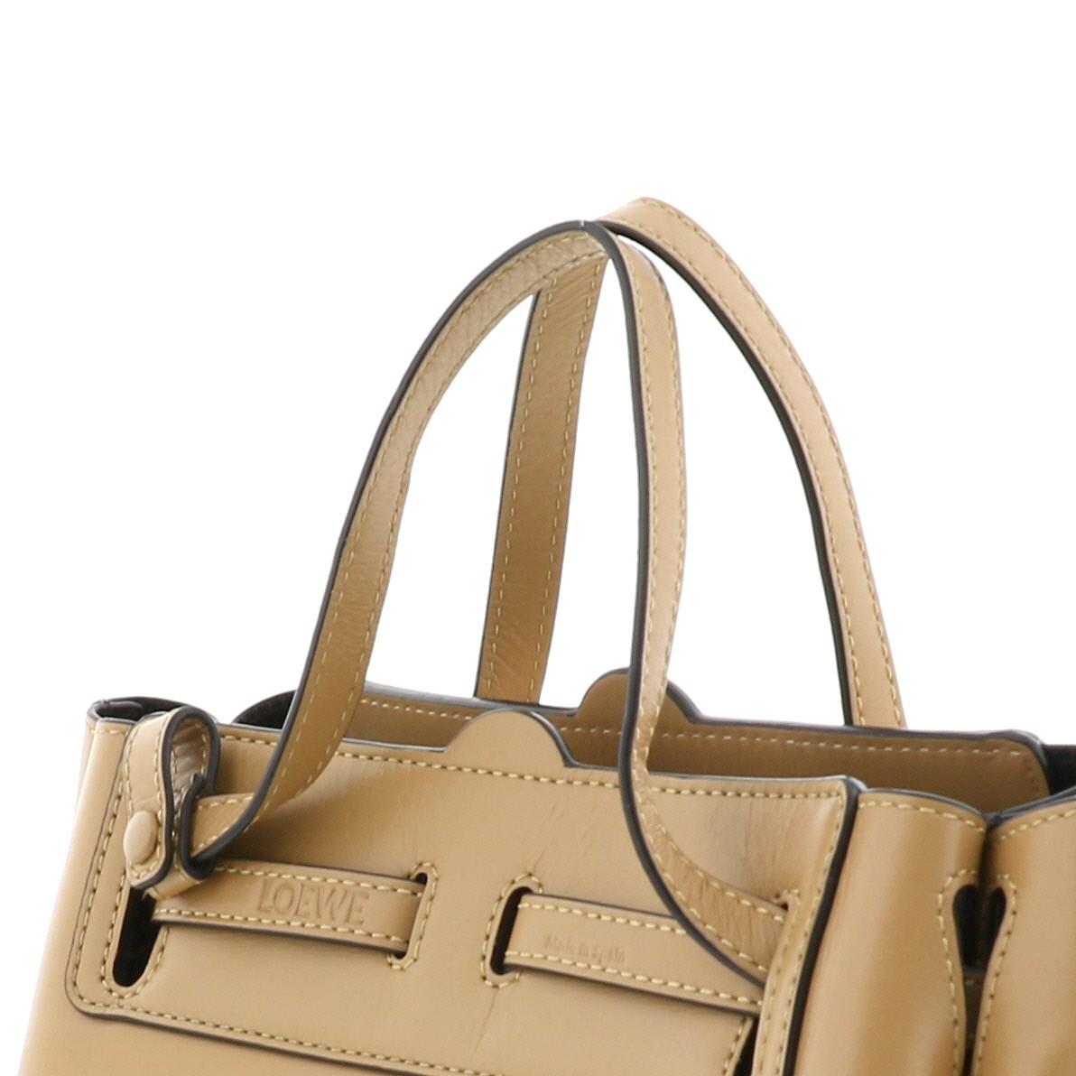 【お値下げ品】【即日発送・水曜定休日・木曜発送】【中古】LOEWE (ロエベ) ラゾ ミニバッグ バッグ ハンドバッグ Lazo Mini Bag Beige/ベージュ 329.74 used:B