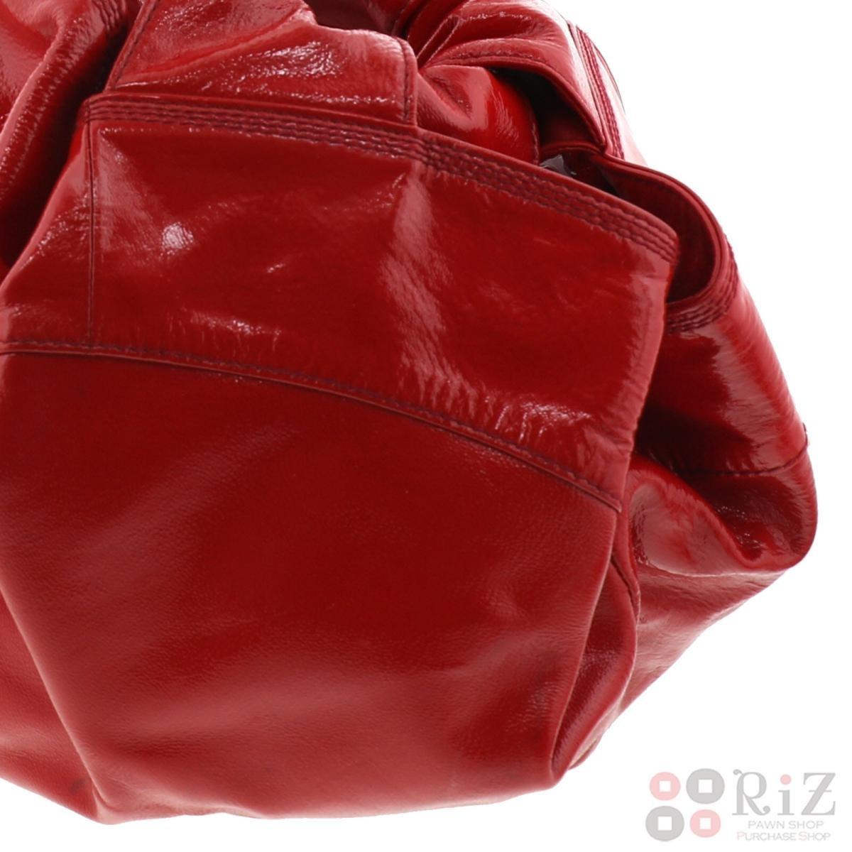 【中古】LOEWE (ロエベ) ナッパ アイレ バッグ ハンドバッグ  Red/レッド 060806 used:B