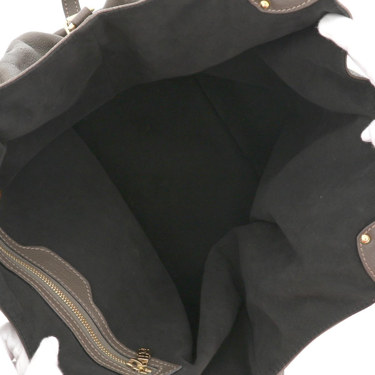 【中古】 LOUIS VUITTON (ルイヴィトン) L バッグ ショルダー/メッセンジャーバッグ mahina マヒナ/グリ M95767 used:B