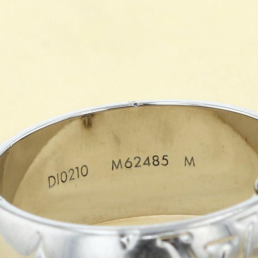 【中古】LOUIS VUITTON (ルイヴィトン) リングネックレス モノグラム ブランドジュエリー ネックレス/ペンダント/チョーカー Monogram Silver/シルバー M62485 used:B