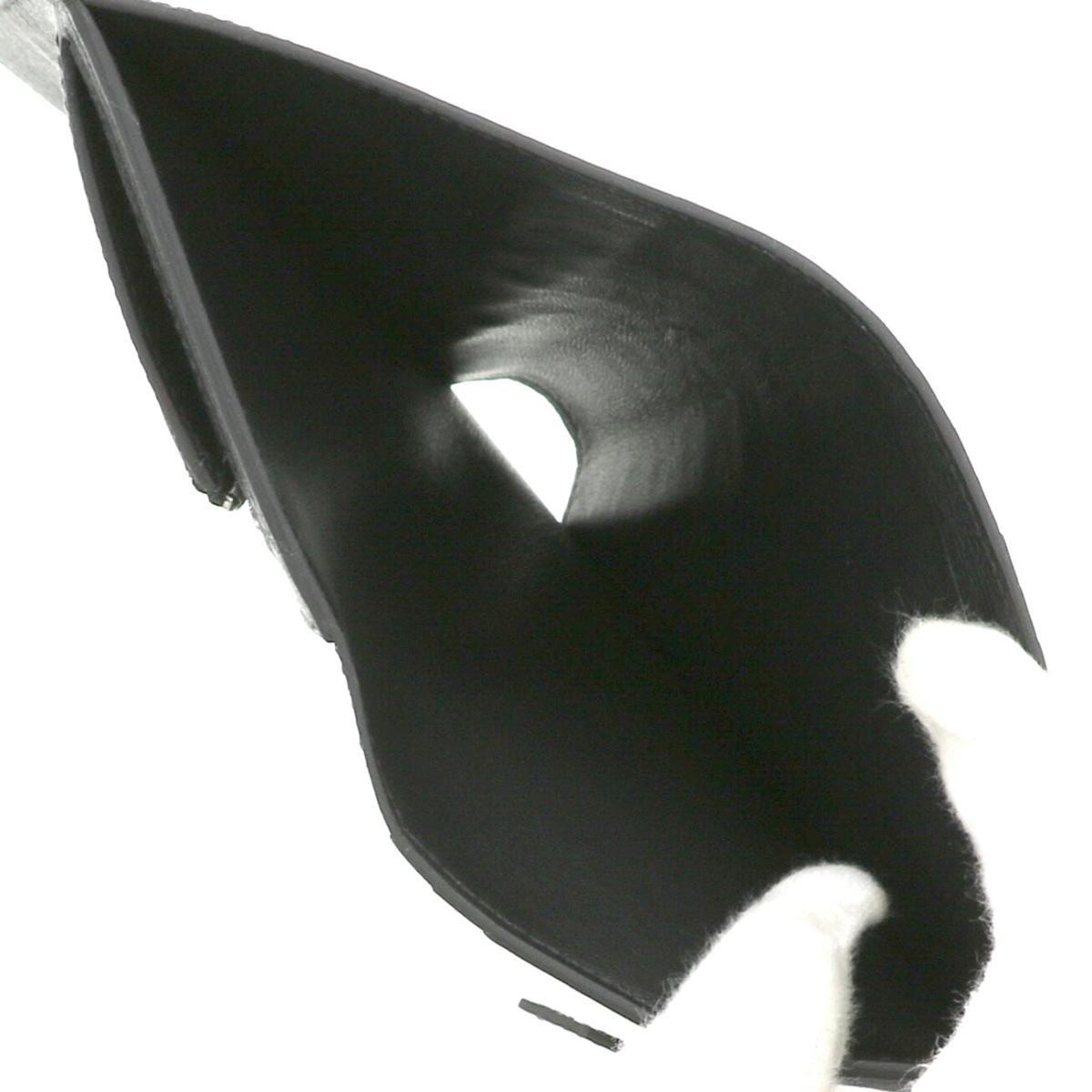 【中古】 HERMES (エルメス) ベアン コンパクト アリゲーター 財布 二つ折り財布(小銭入有) ベアン Black H047905CK89 bnwt:N