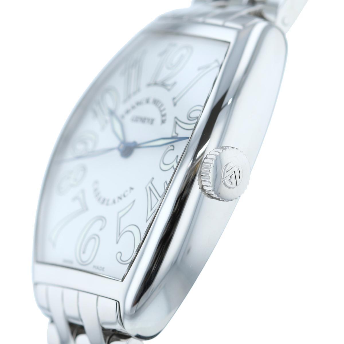 【中古】 FRANCK MULLER (フランクミュラー) カサブランカ White 時計 自動巻き/メンズ Casablanca White 5850CASA used:A