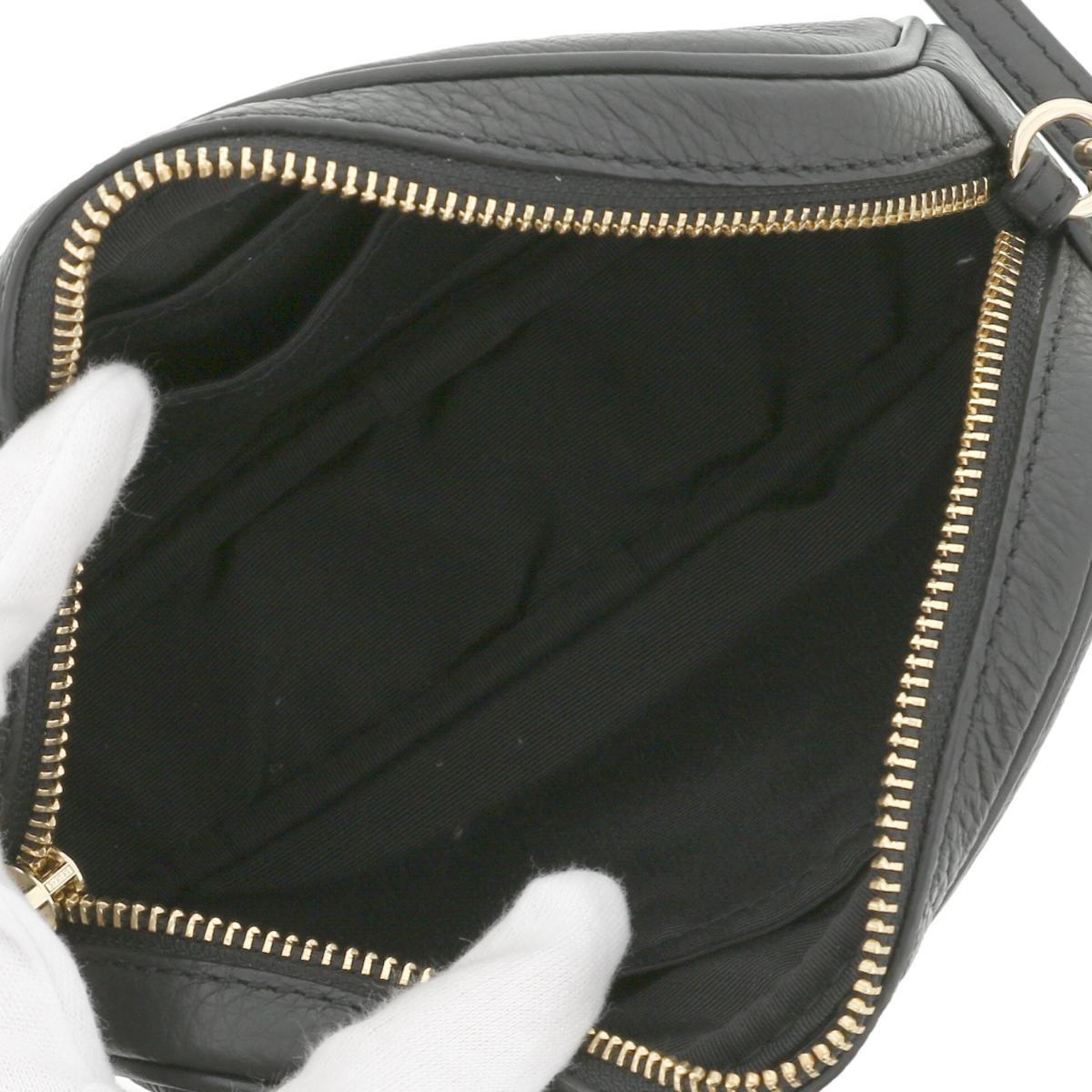 【最終値下げ】【中古】 COACH コーチ ショルダーバッグ バッグ ショルダー/メッセンジャーバッグ Leather  Black/ブラック F79210 used:A
