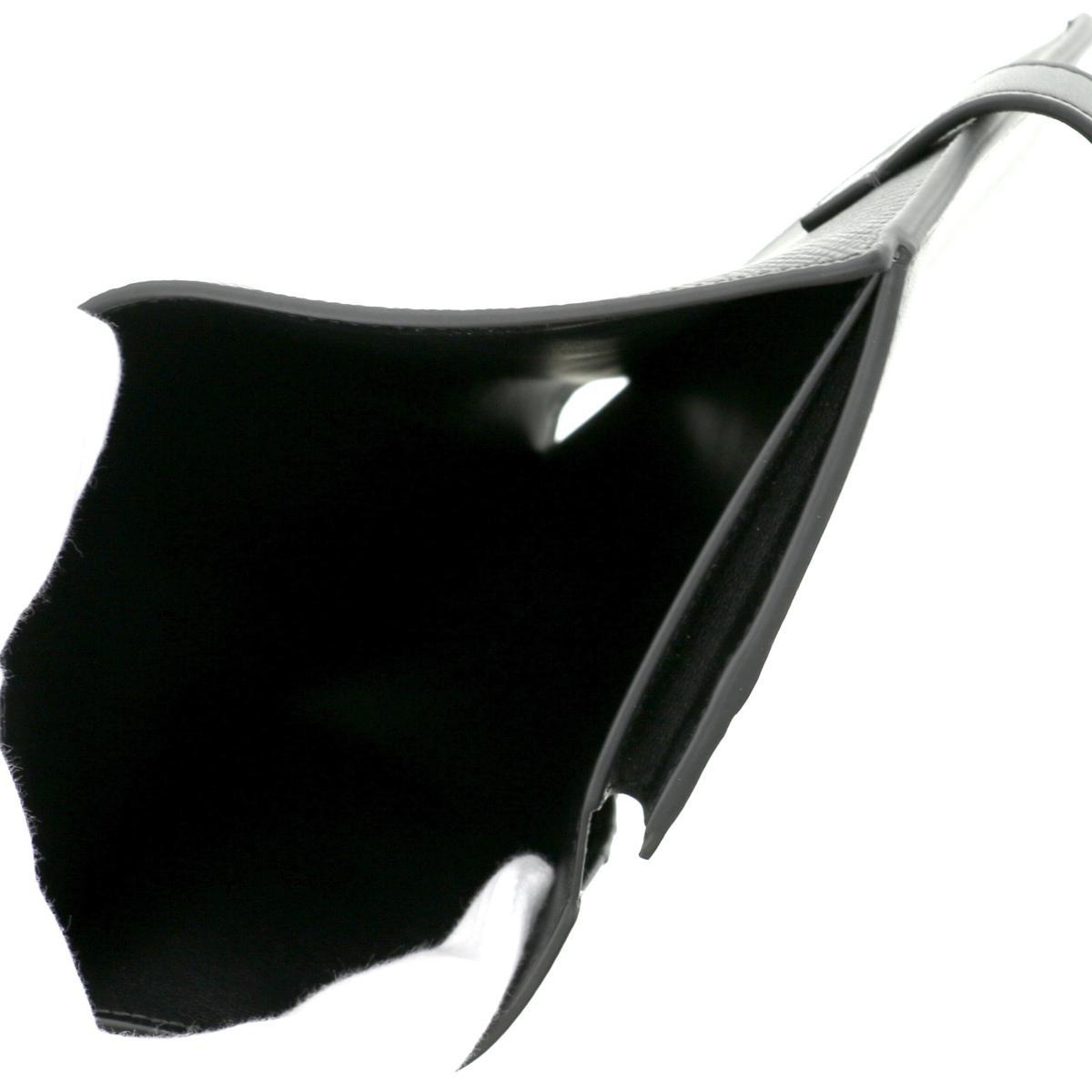 【美品】【中古】CELINE セリーヌ ミディアム ストラップウォレット 財布 二つ折り財布(小銭入有) コンパクトウォレット  Black/ブラック 10B643 unused:S