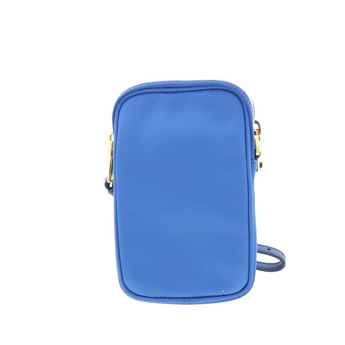 【中古】PRADA プラダ 2WAY ミニショルダーバッグ バッグ ショルダーバッグ/ポーチ  Blue/ブルー ナイロン 1N1860 used:A