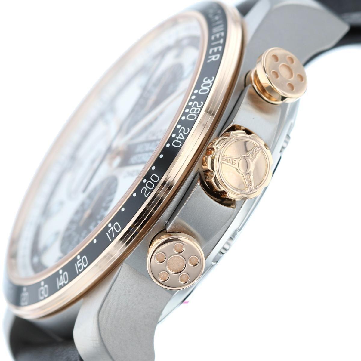 【中古】Chopard (ショパール) モナコグランプリ ヒストリック クロノグラフ 時計 自動巻き/メンズ Monaco Grand White/ホワイト 168570 used:A