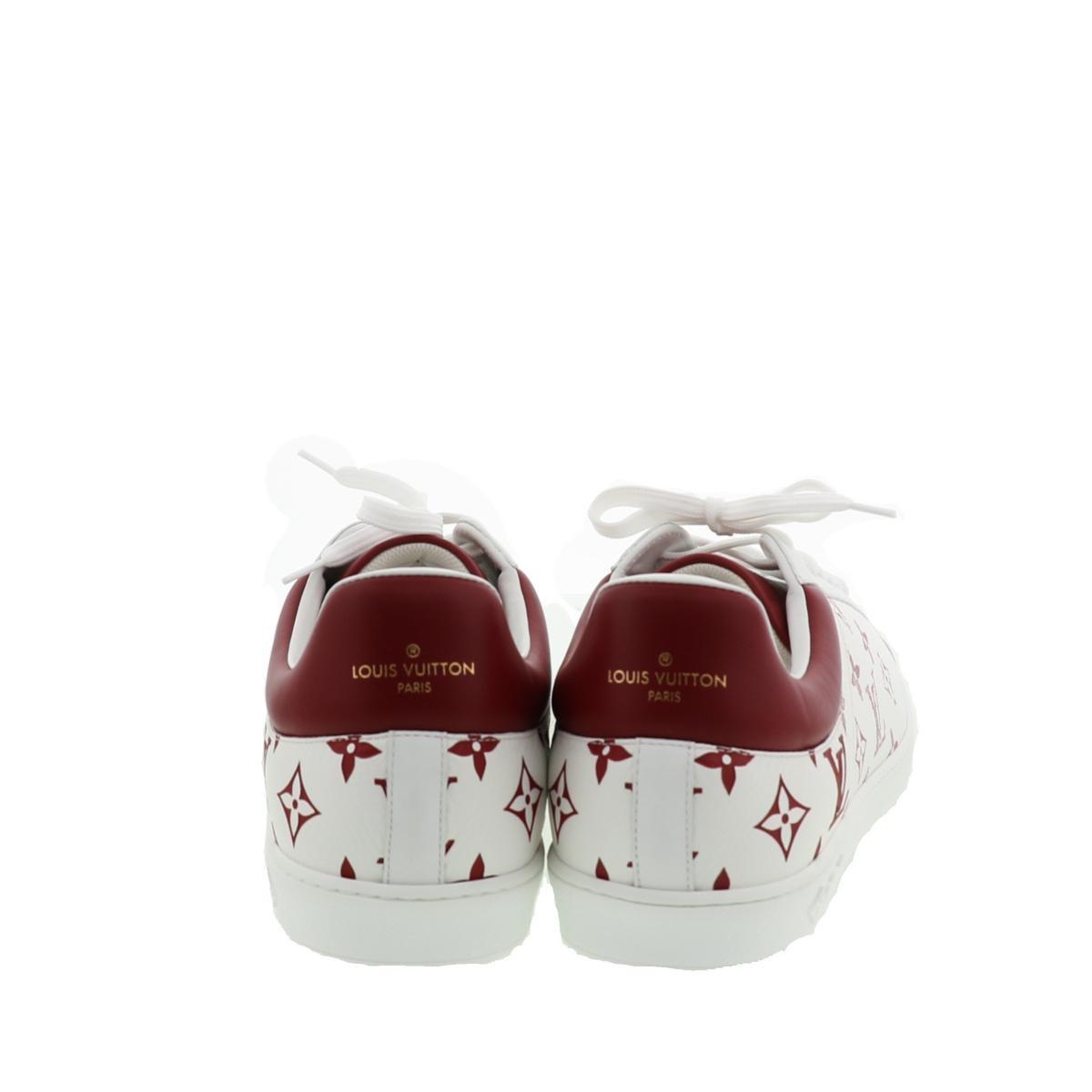 【即日発送・水曜定休日・木曜発送】【極上品】【オススメ】【29cm】【RI】LOUIS VUITTON (ルイヴィトン) リヴォリ・ライン スニーカー 靴 靴/メンズ リヴォリライン ホワイト・レッド