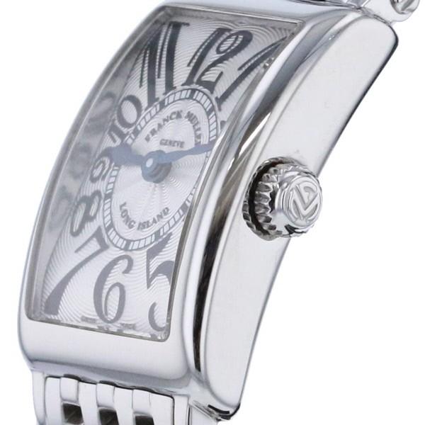 【お値下げ品】【中古】 FRANCK MULLER (フランクミュラー) ロングアイランド Silver 時計 クオーツ/レディース  Silver 802QZ used:A