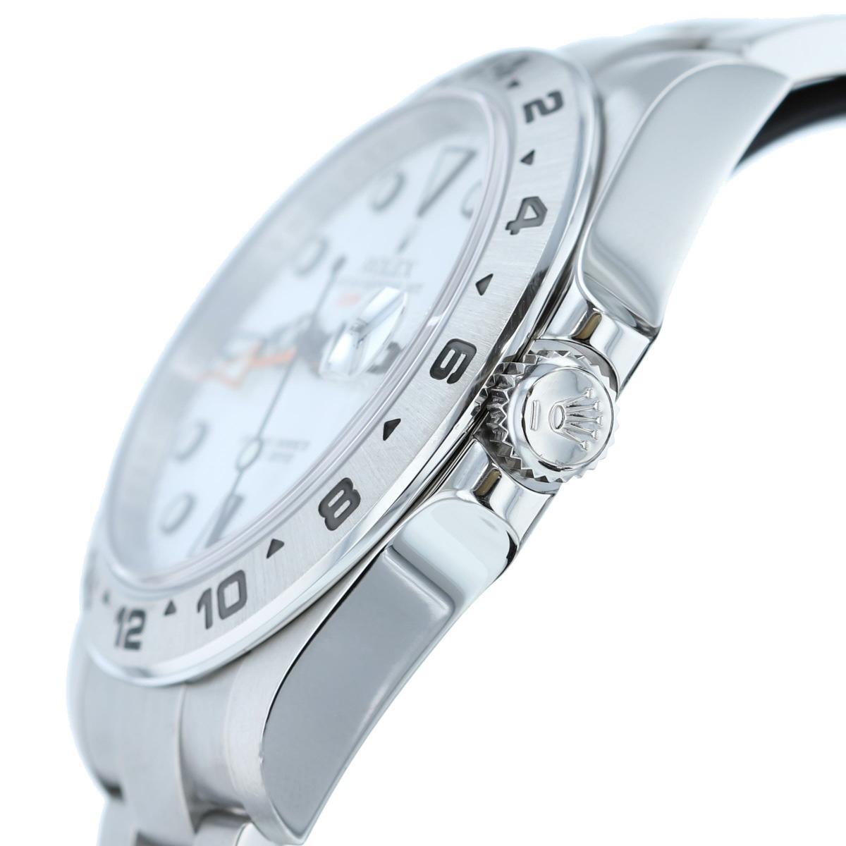 【即日発送・水曜定休日・木曜発送】【美品】【オススメ】【RI】 ROLEX (ロレックス) エクスプローラーII White 時計 自動巻き/メンズ EXPLORER� White/ホワイト 216570 used:A