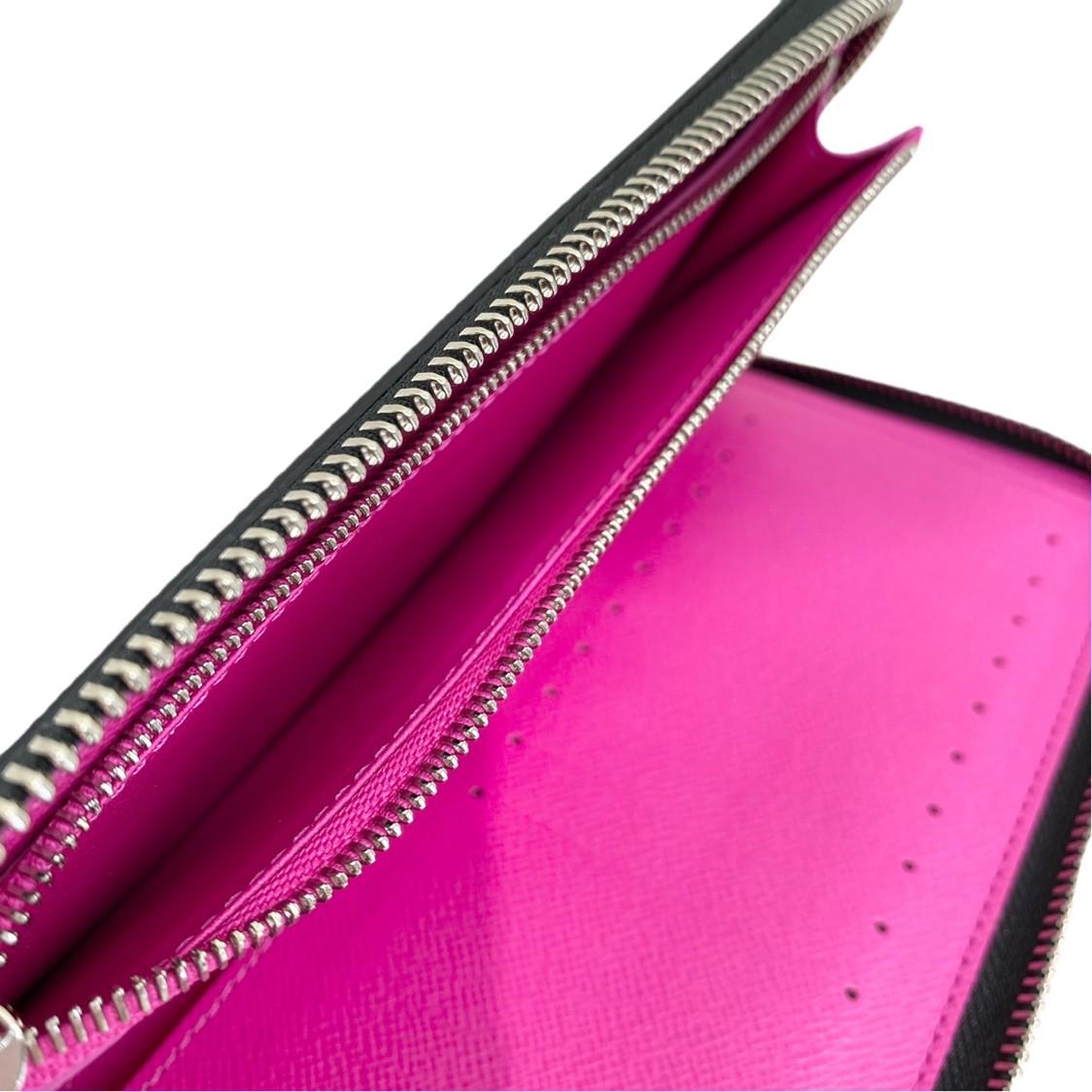 【最終値下げ品】【極上品】【オススメ】LOUIS VUITTON (ルイヴィトン) ジッピーウォレット・ヴェルティカル 財布 長財布(小銭入有) タイガラマ タイガラマ・ピンク M30780 unused:S