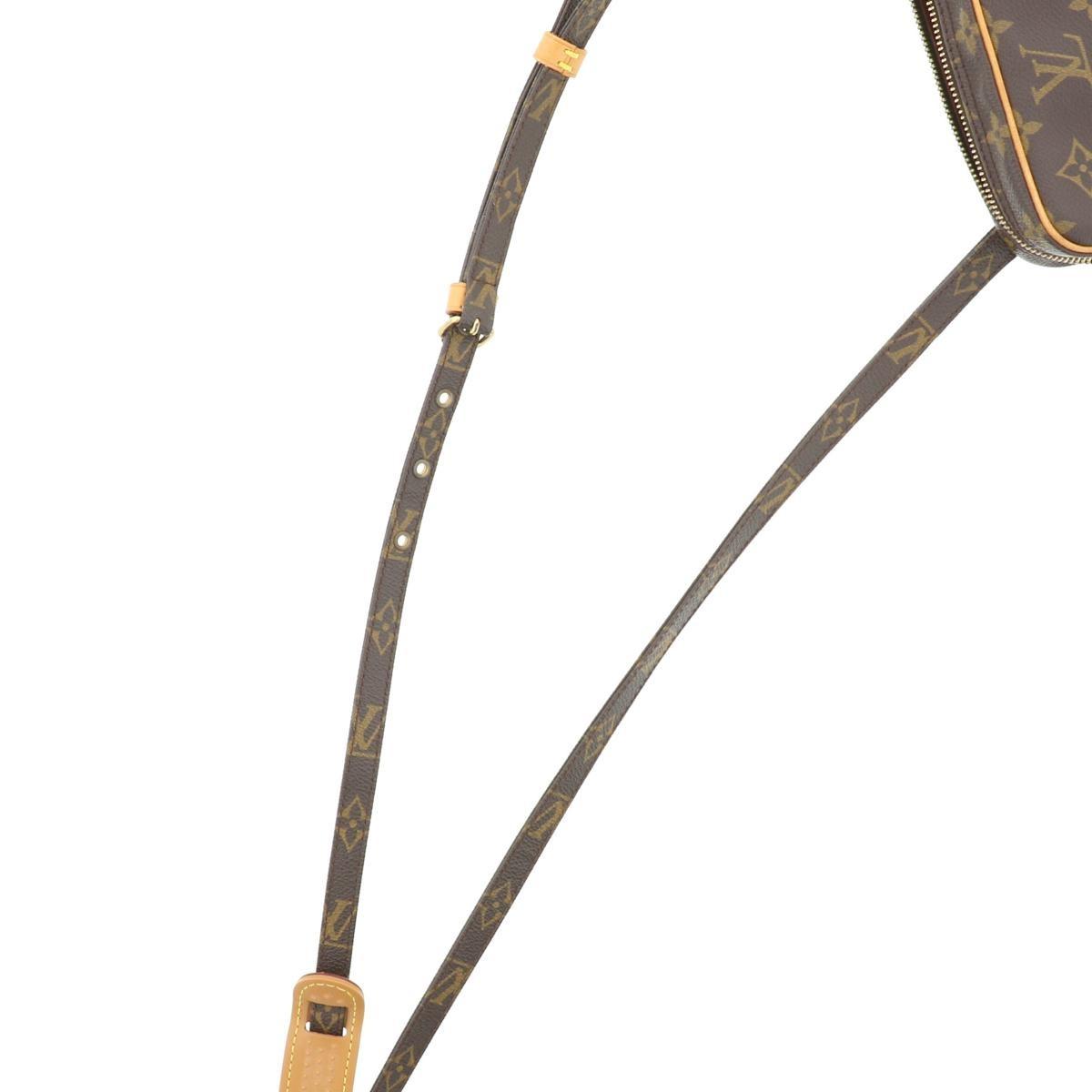 【中古】 LOUIS VUITTON (ルイヴィトン) ポシェット・マルリーバンドリエール バッグ ショルダー/メッセンジャーバッグ Monogram モノグラム M51828 used:A