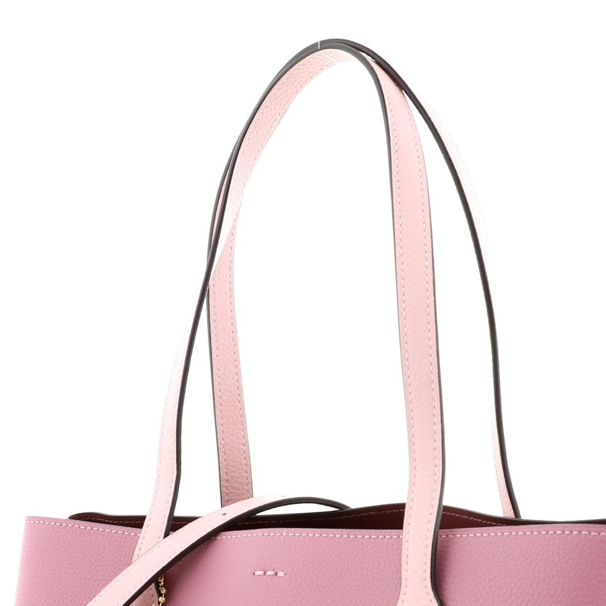【SALE】【中古】 COACH コーチ DISNEY×COACH アヴェニュートート 2WAY バッグ トートバッグ DISNEY Pink/ピンク ミッキー スケートボード 3711 used:A
