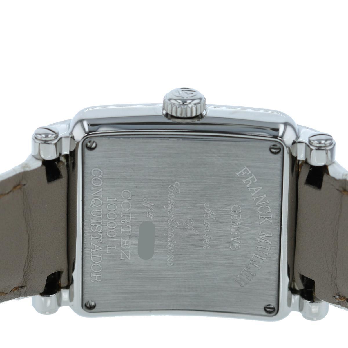 【お値下げ品】【美品】【中古】FRANCK MULLER (フランクミュラー) コンキスタドール コルテス 時計 自動巻/レディース コンキスタドール Silver/シルバー 10000L used:A