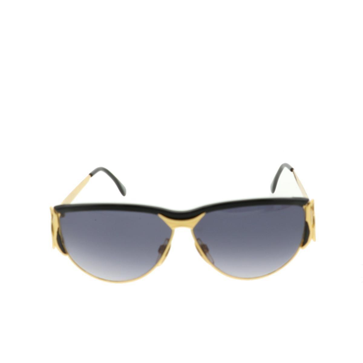 【中古】GIVENCHY ジバンシー サングラス 服飾 眼鏡/サングラス  Black/ブラック スネーク  used:B