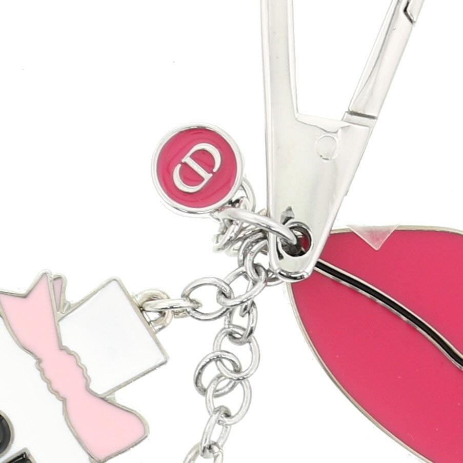 【中古】Christian Dior (クリスチャンディオール) キーホルダー 小物 キーリング/キーホルダー    used:A