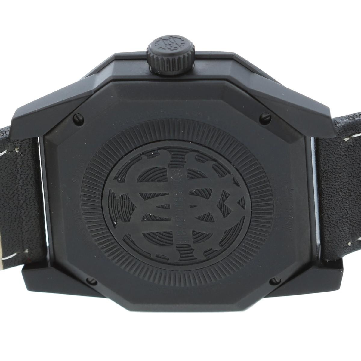 【お値下げ品】【中古】 Roberto Cavalli (ロベルト カヴァリ) by FRANCK MULLER 時計 クオーツ/メンズ Quartz Black RV1G025L0091 used:B