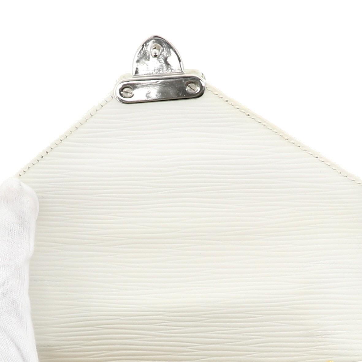 【中古】フェンディ 2WAY エピレザー ショルダーバッグ ホワイト  ショルダー/メッセンジャーバッグ FENDI 2WAY Epi Leather Shoulder Bag White