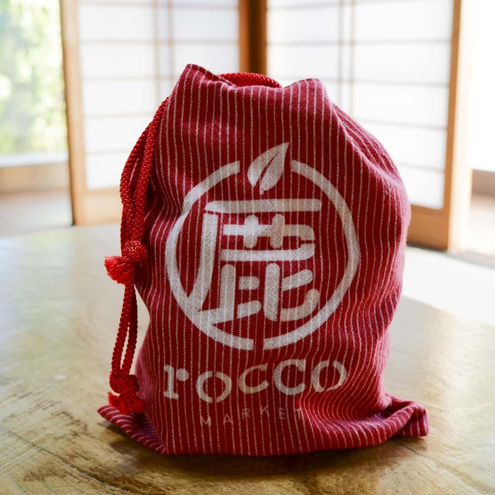 rocco market 信玄袋(朱)
