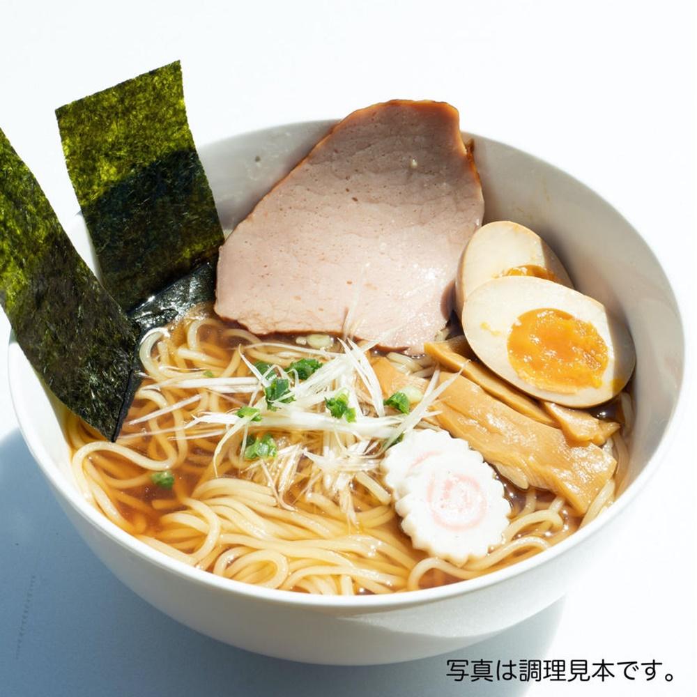 六十点ラーメン(醤油・生麺)