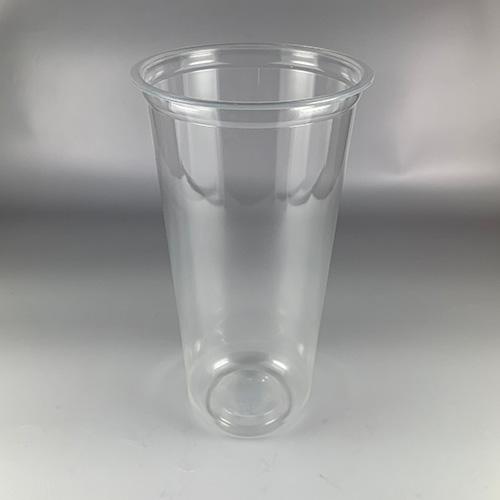 【プラカップ・紙コップ】テイクアウト 使い捨てカップ コーヒーカップ PP 89mm口径 22オンスU底クリアカップ 1000個