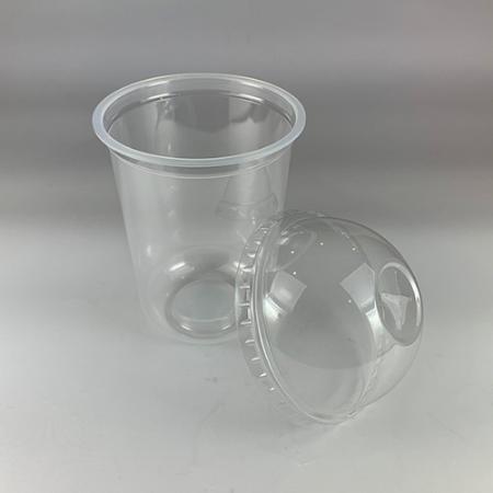【プラカップ・紙コップ】テイクアウト 使い捨てカップ コーヒーカップ 89mm口径 アイスフタドーム型 1000個