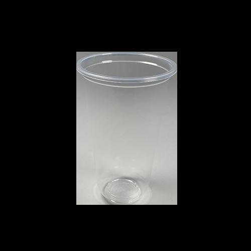 【プラカップ・紙コップ】テイクアウト 使い捨てカップ コーヒーカップ タピオカ 95mm口径 22オンスU底クリアカップ 1000個