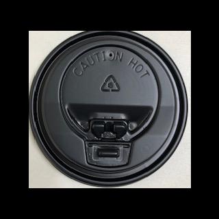 【プラカップ・紙コップ】テイクアウト 使い捨てカップ コーヒーカップ 80 口径 8オンス対応開閉式黒フタ 2000個
